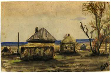 Юный рисовальщик ковров из Володарки