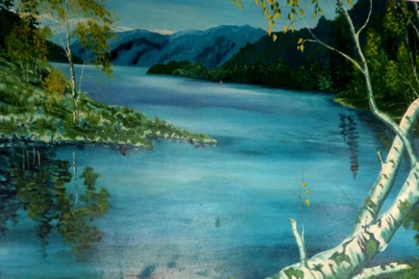 Юнные художники Красноярки